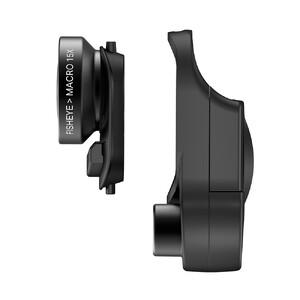 Купить Объектив Olloclip Fisheye + Macro 15X Lens для iPhone X/XS