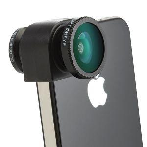 Купить Объектив Olloclip 3-in-1 для iPhone 4/4S