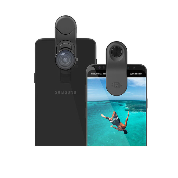 Универсальный объектив Olloclip Multi-Device Fisheye + Super-Wide + Macro Essential Lenses