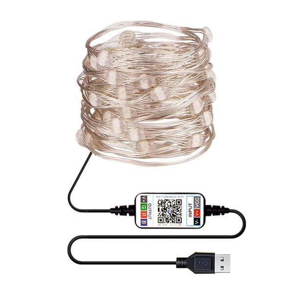 Умная светодиодная гирлянда iLoungeMax 100 LED Multicolored 10m