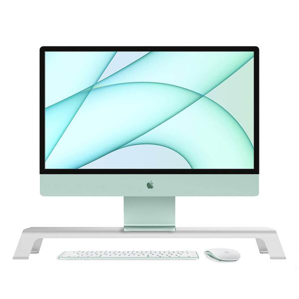 Универсальная алюминиевая подставка на стол oneLounge 1Desk для iMac | монитора