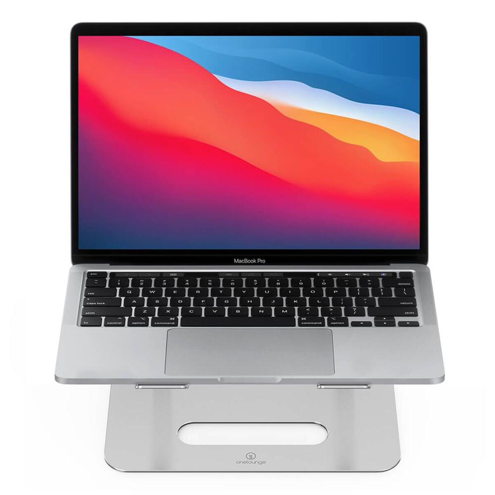 Алюминиевая регулируемая подставка oneLounge 1Desk для MacBook