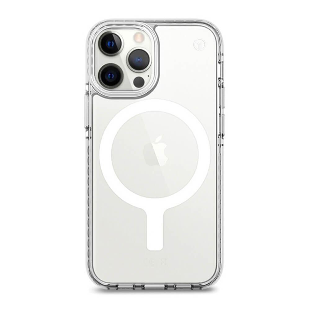 Прозрачный чехол oneLounge 1Mag Bumper MagSafe для iPhone 13 Pro Max