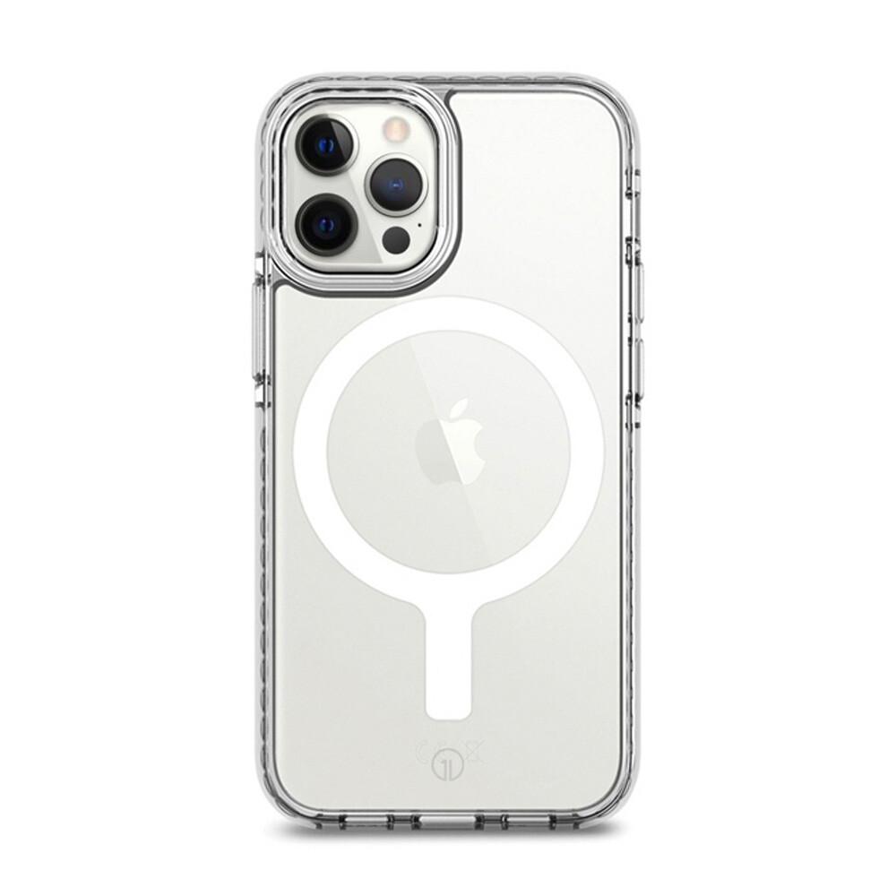 Прозрачный чехол oneLounge 1Mag Bumper MagSafe для iPhone 12 Pro Max