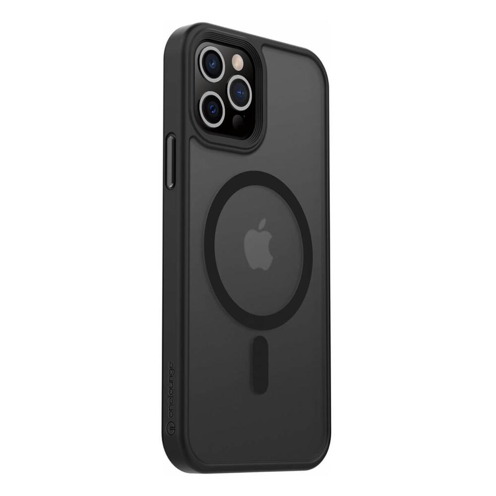 Чехол oneLounge 1Mag Pro MagSafe Black для iPhone 12   12 Pro