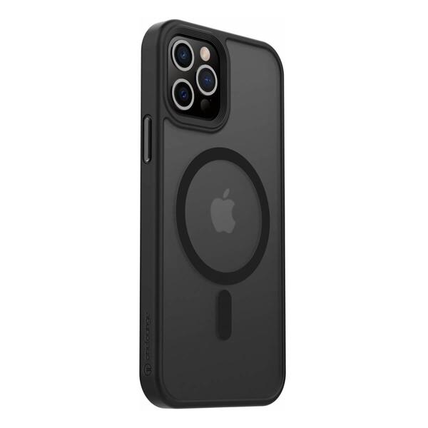Чехол oneLounge 1Mag Pro MagSafe Black для iPhone 12 Pro Max