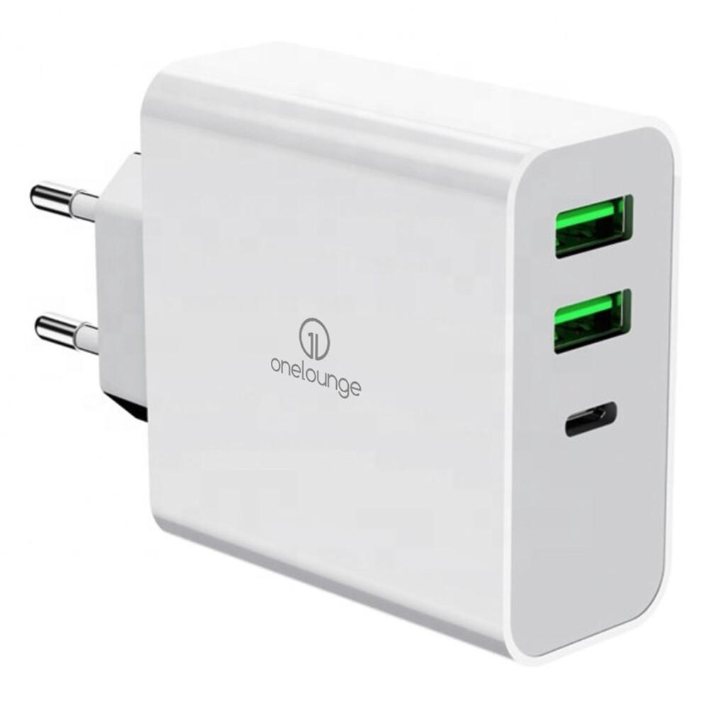 Зарядное устройство oneLounge 1Power PD 65W для MacBook   iPhone