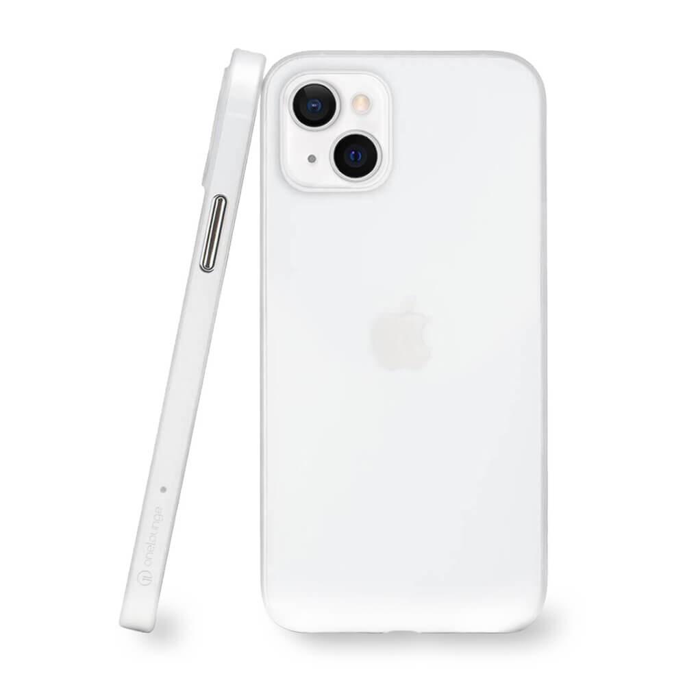 Супертонкий чехол oneLounge 1Thin 0.35mm White для iPhone 13 mini