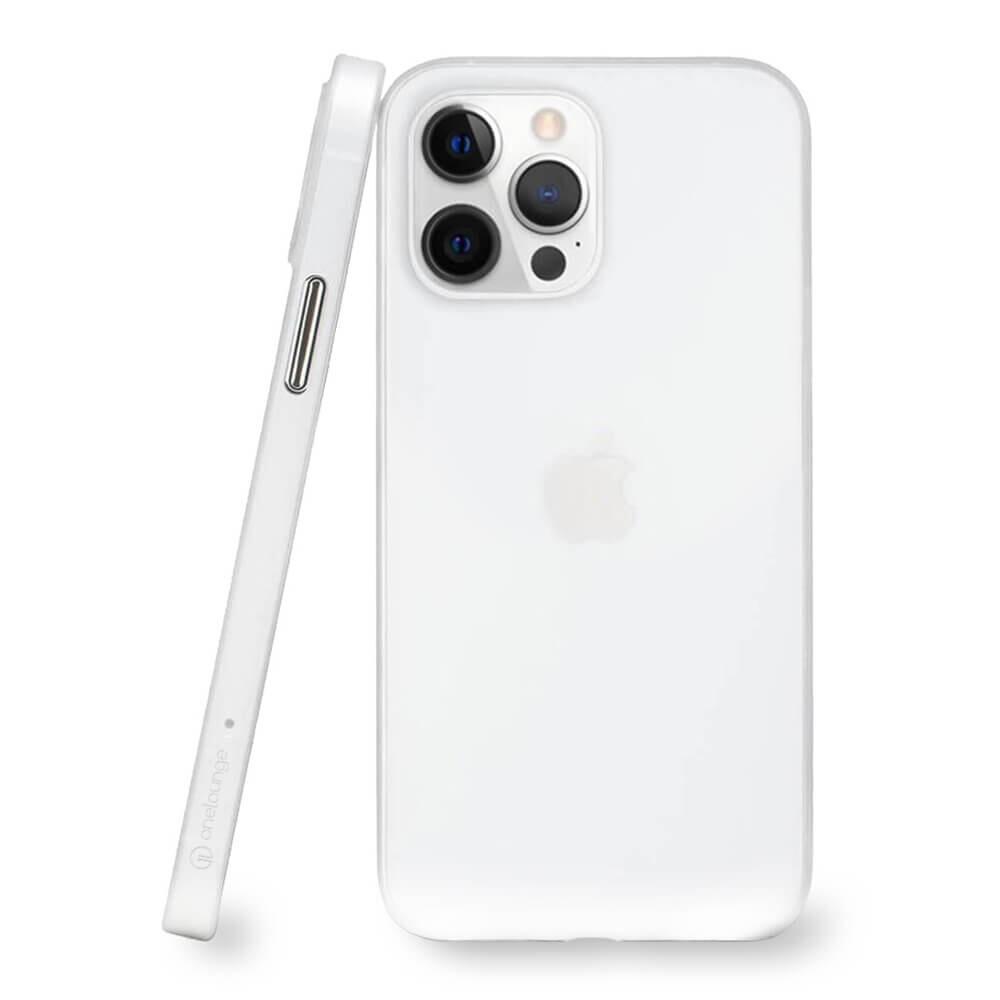 Супертонкий чехол oneLounge 1Thin 0.35mm White для iPhone 13 Pro