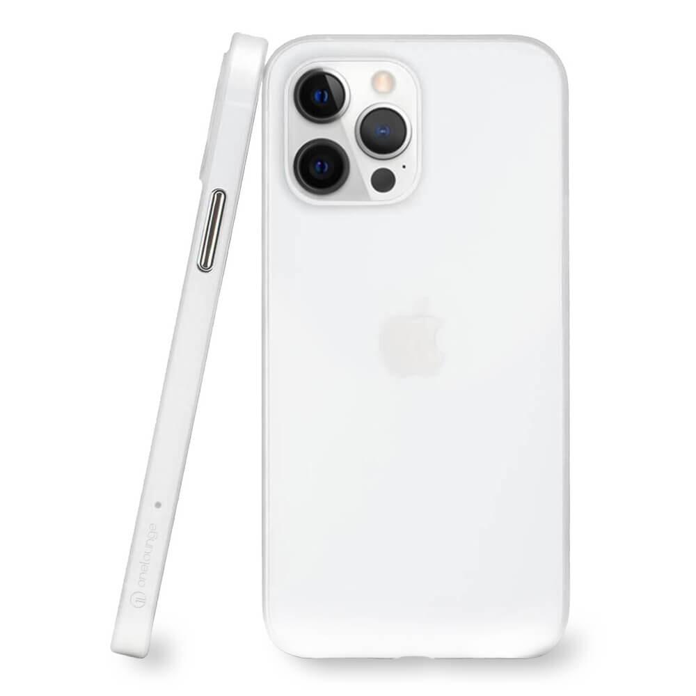 Супертонкий чехол oneLounge 1Thin 0.35mm White для iPhone 13 Pro Max