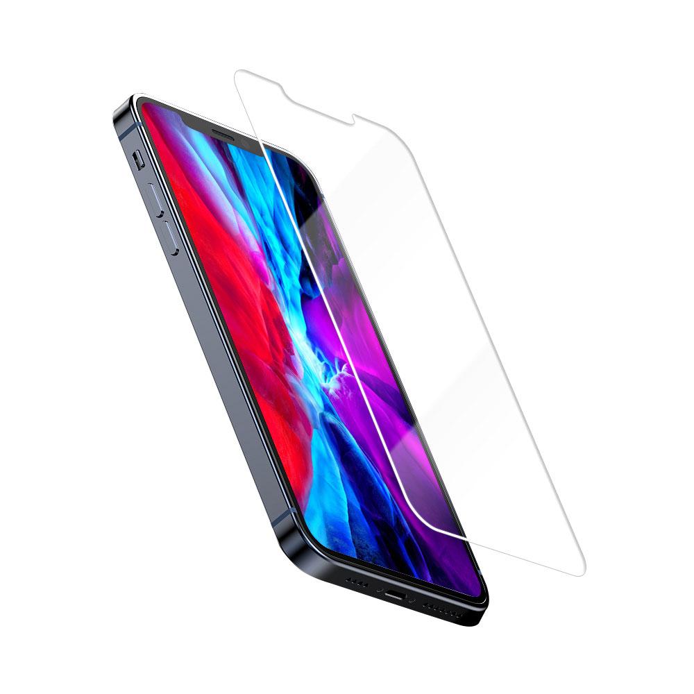 Купить Защитное стекло oneLounge 2.5D Full Cover Glue Glass для iPhone 12 Pro Max