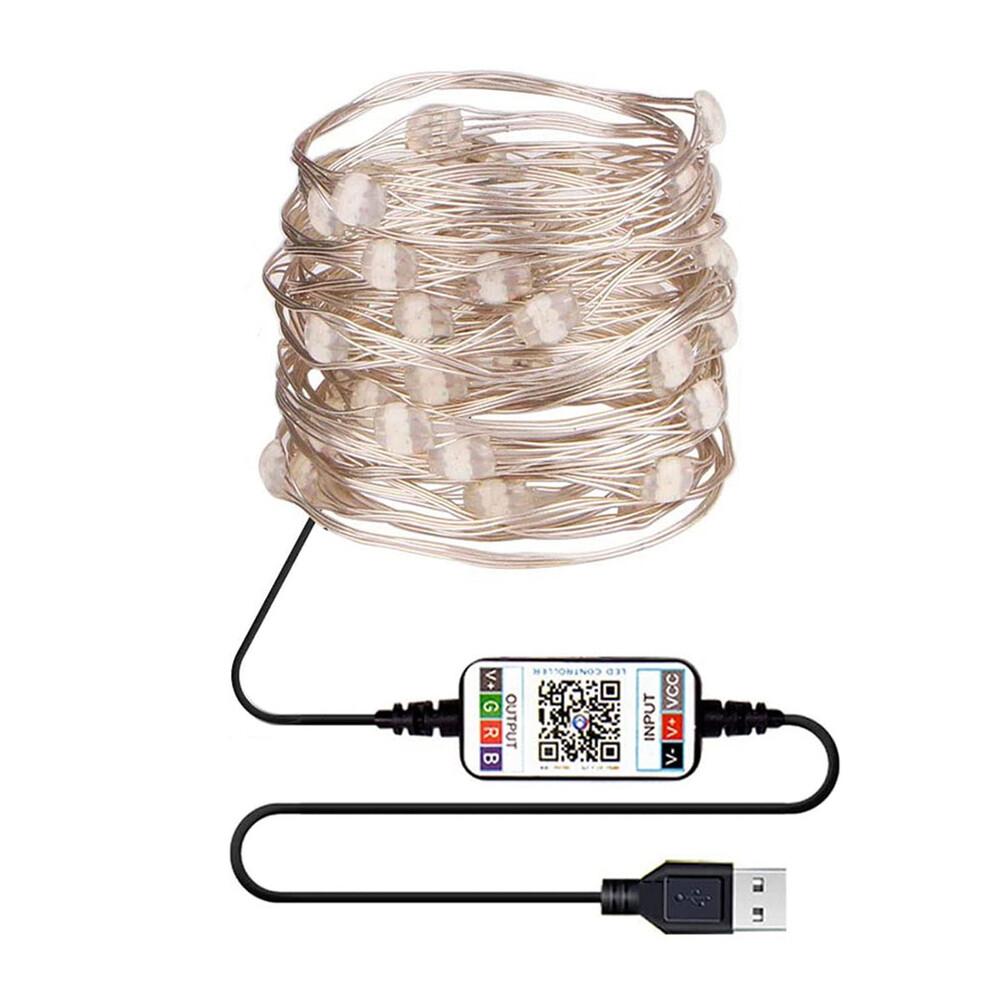 Купить Умная светодиодная гирлянда oneLounge 50 LED Multicolored 5m