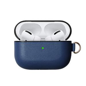Купить Синий кожаный чехол oneLounge Blue для наушников Apple AirPods Pro