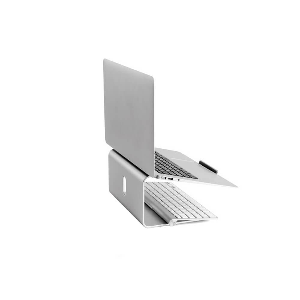 Алюминиевая подставка iLoungeMax Aluminum Alloy Laptop Stand 360° для MacBook