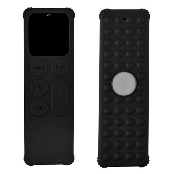 Силиконовый противоударный чехол iLoungeMax AM-270 Black для пульта управления Apple TV 4