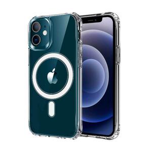 Купить Прозрачный силиконовый чехол oneLounge Armor MagSafe Case для iPhone 12 | 12 Pro