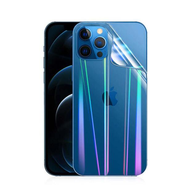 Задняя защитная гидрогелевая пленка с градиентом iLoungeMax Hydrogel Film Aurora для iPhone 12 | 12 Pro