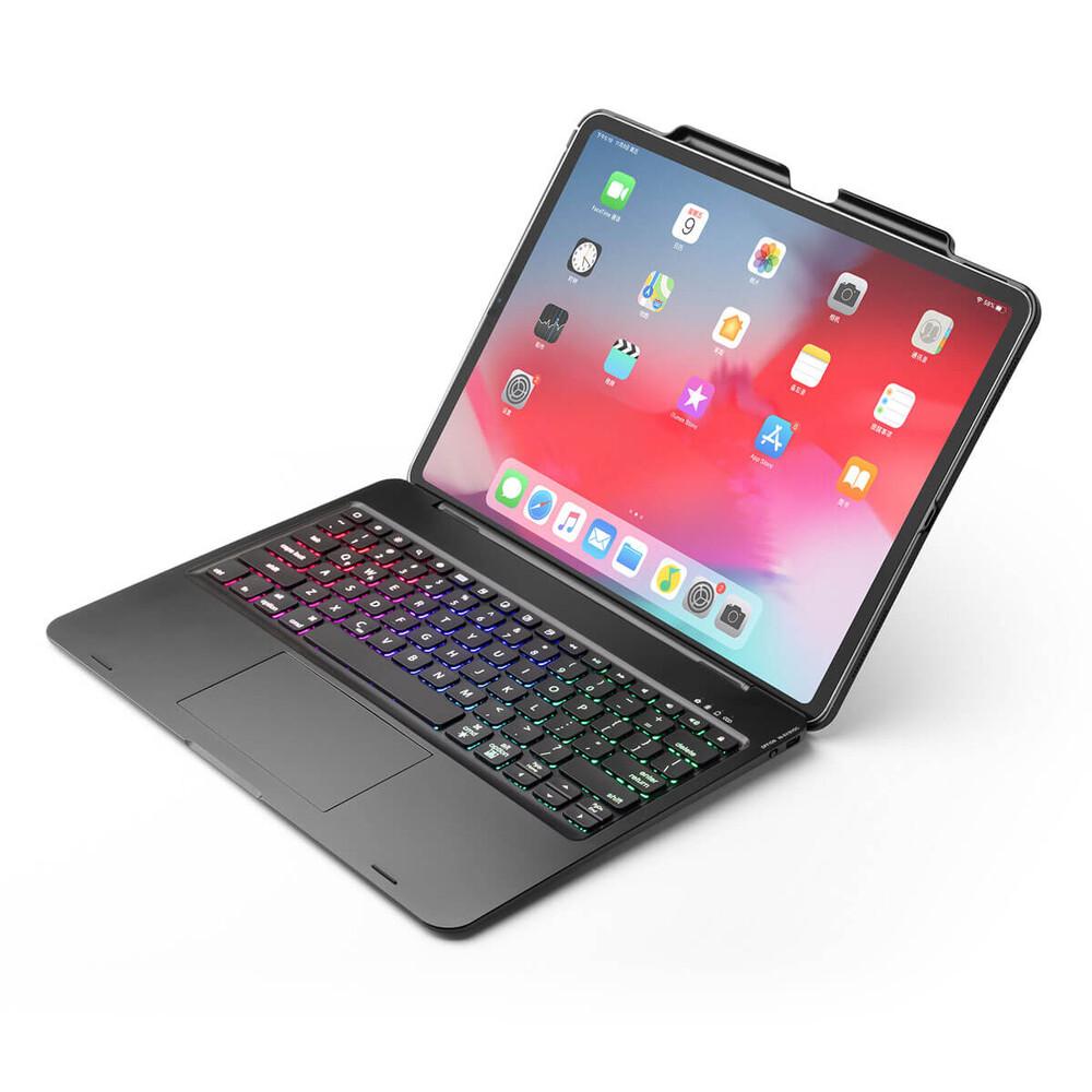 "Чохол-клавиатура iLoungeMax Bluetooth Keyboard Touchpad для iPad Pro 12.9"" (2020   2018)"