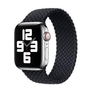 Купить Плетеный монобраслет iLoungeMax Braided Solo Loop Charcoal Black для Apple Watch 40mm   38mm Size M OEM