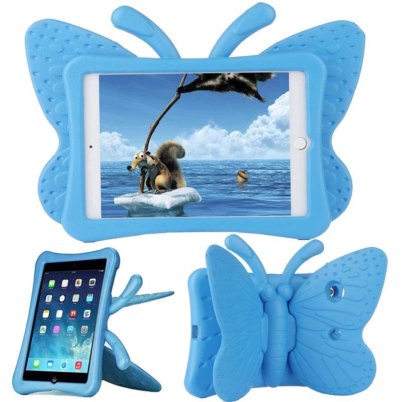Купить Детский противоударный чехол oneLounge Cartoon Butterfly Blue для iPad mini 1 | 2 | 3 | 4 | 5