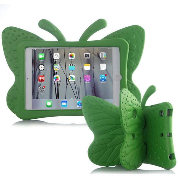 "Детский противоударный чехол iLoungeMax Cartoon Butterfly Green для iPad Pro 9.7"" | Air | Air 2"