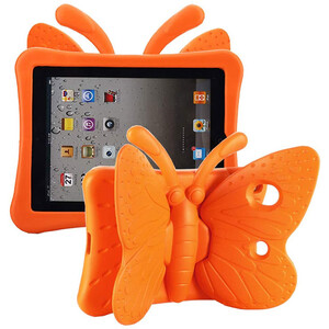 Купить Детский чехол oneLounge Cartoon Butterfly Orange для Apple iPad 7 10.2"