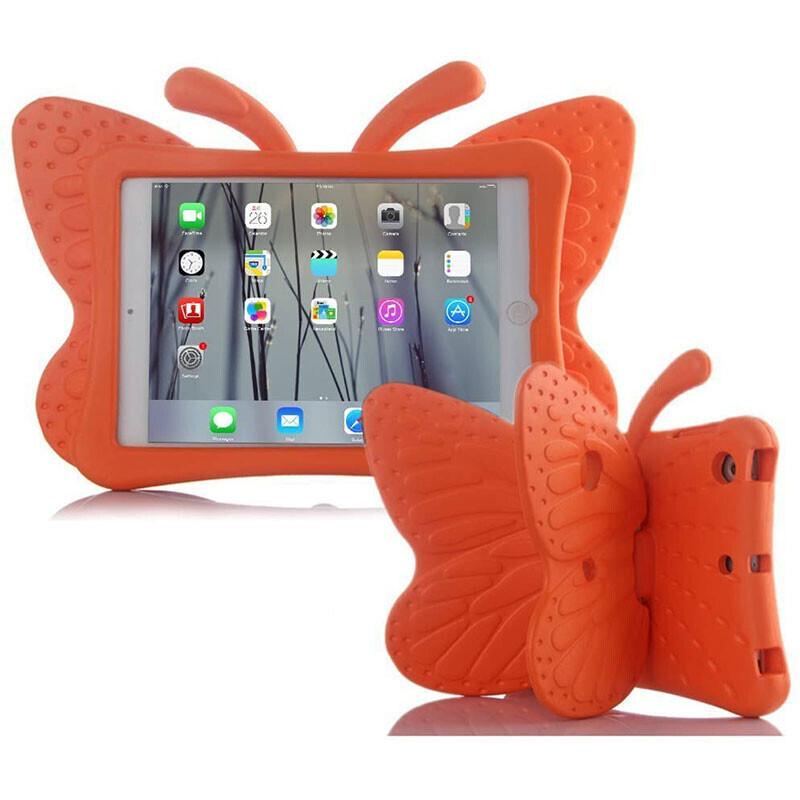 "Детский противоударный чехол iLoungeMax Cartoon Butterfly Orange для iPad Pro 9.7"" | Air | Air 2"