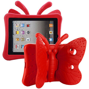Купить Детский чехол oneLounge Cartoon Butterfly Red для Apple iPad 7 10.2"