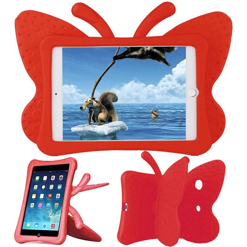 Купить Детский противоударный чехол oneLounge Cartoon Butterfly Red для iPad mini 1 | 2 | 3 | 4 | 5