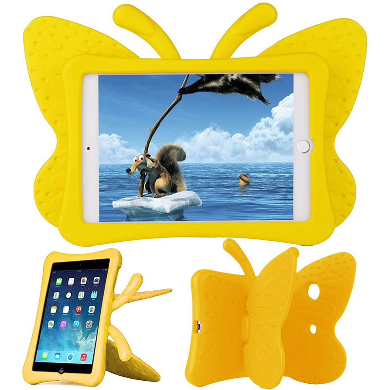 Детский противоударный чехол iLoungeMax Cartoon Butterfly Yellow для iPad mini 1 | 2 | 3 | 4 | 5