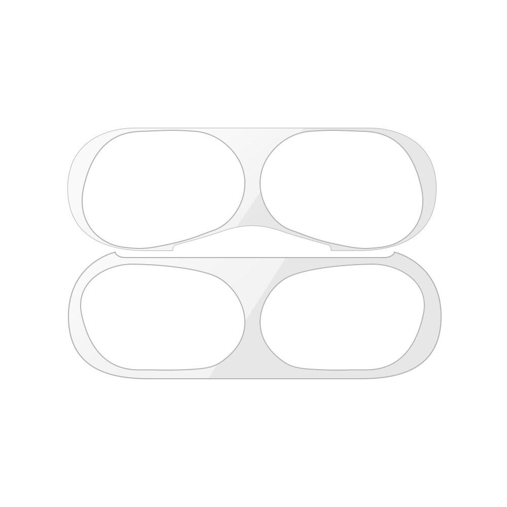 Защитная пленка iLoungeMax для зарядного кейса AirPods Pro Silver