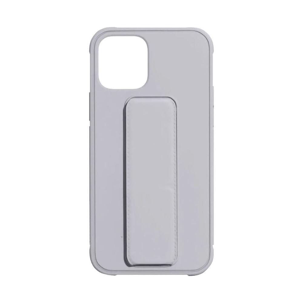 Чехол-подставка с держателем oneLounge Case-Stand Gray для iPhone 12 | 12 Pro