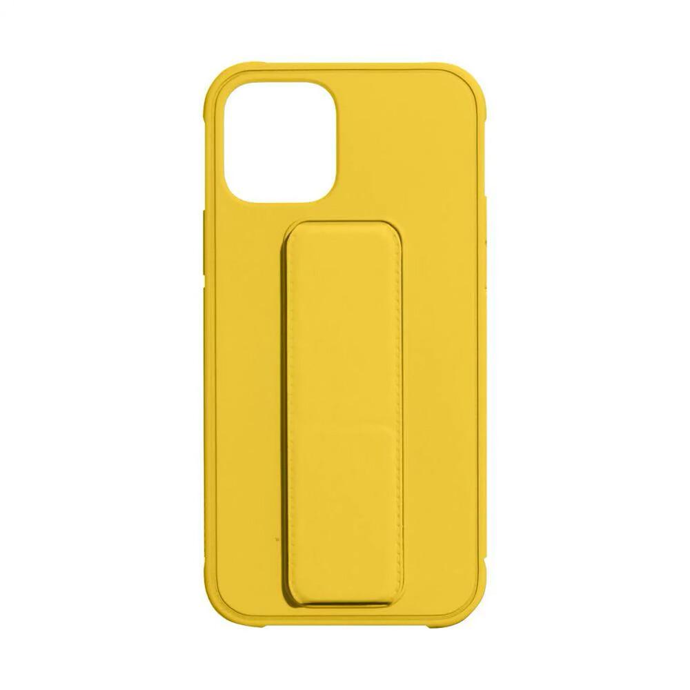 Купить Чехол-подставка с держателем oneLounge Case-Stand Yellow для iPhone 12 Pro Max