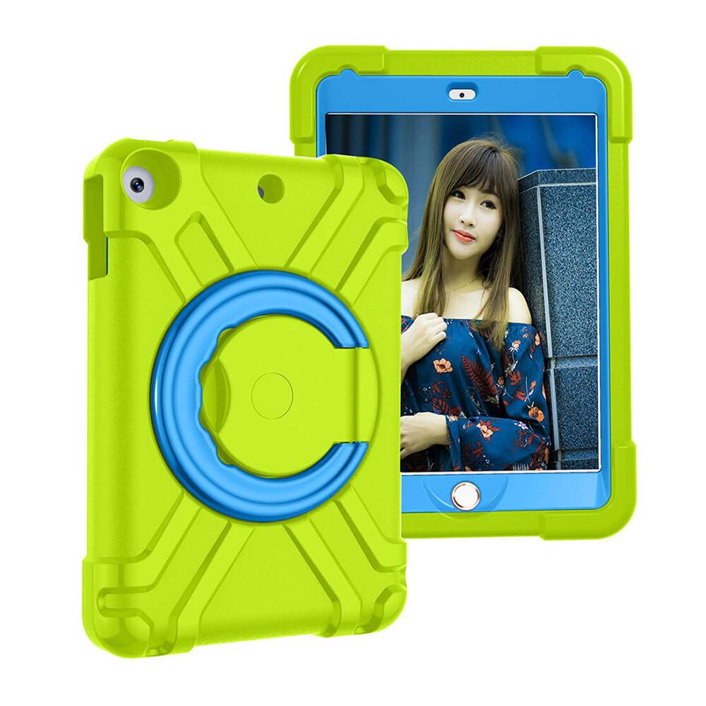Детский противоударный чехол iLoungeMax Children Case 360 Green | Blue для iPad 9.7 (2018 | 2017) | Air 2 | Air