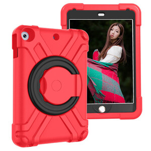 """Купить Детский противоударный чехол iLoungeMax Children Case 360 Red   Black для iPad 9   8   7 10.2"""" (2021   2020   2019)"""