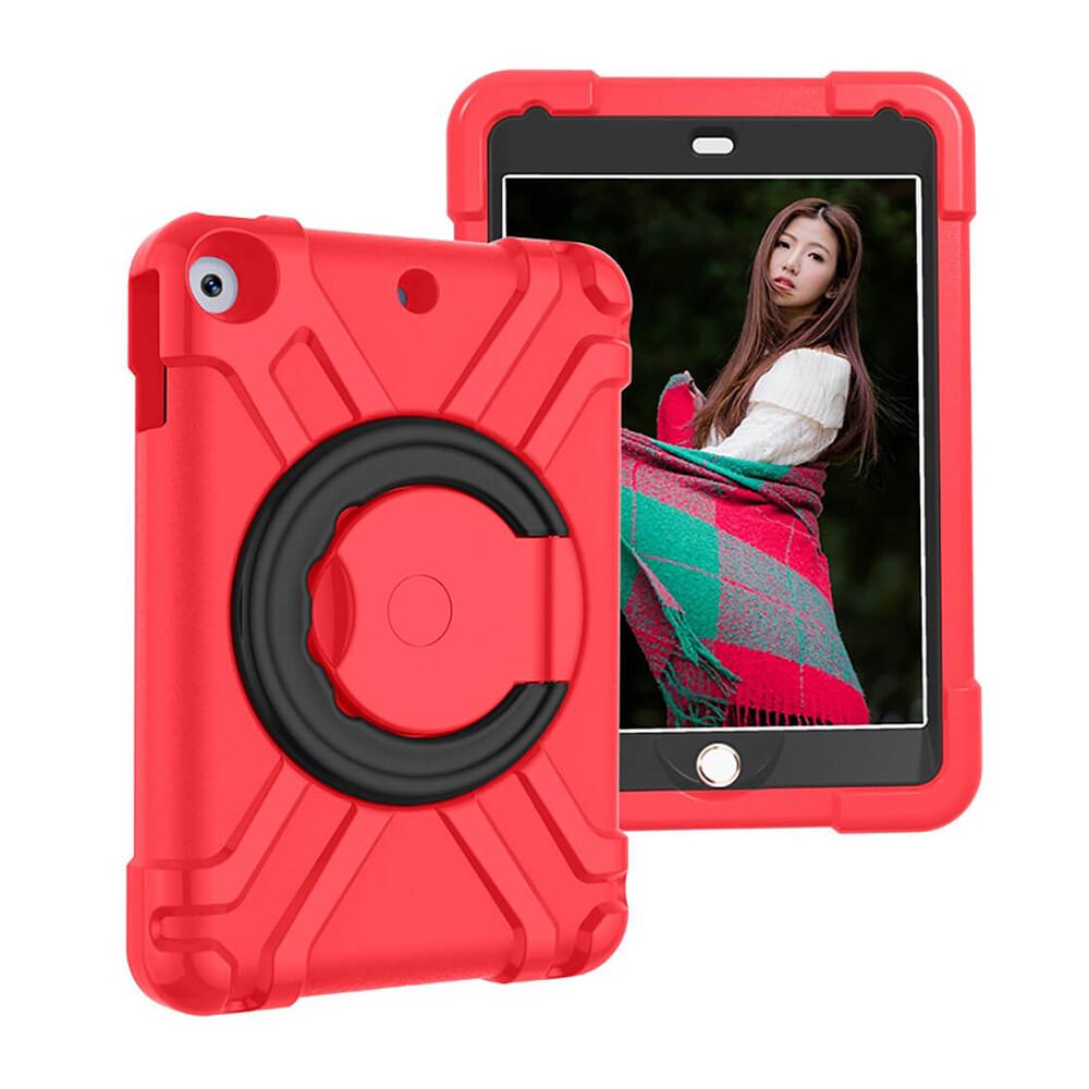Детский противоударный чехол iLoungeMax Children Case 360 Red | Black для iPad 9.7 (2018 | 2017) | Air 2 | Air