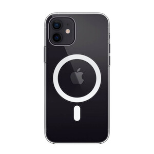 Купить Прозрачный силиконовый чехол oneLounge Clear Case MagSafe для iPhone 12 | 12 Pro OEM