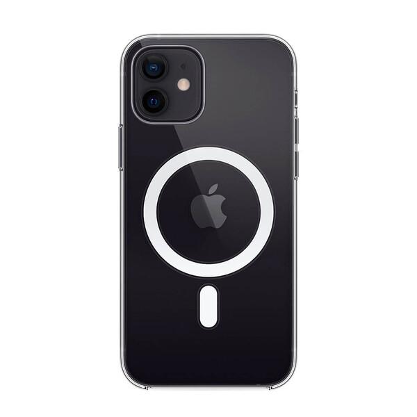 Прозрачный силиконовый чехол iLoungeMax Clear Case MagSafe для iPhone 12 | 12 Pro OEM