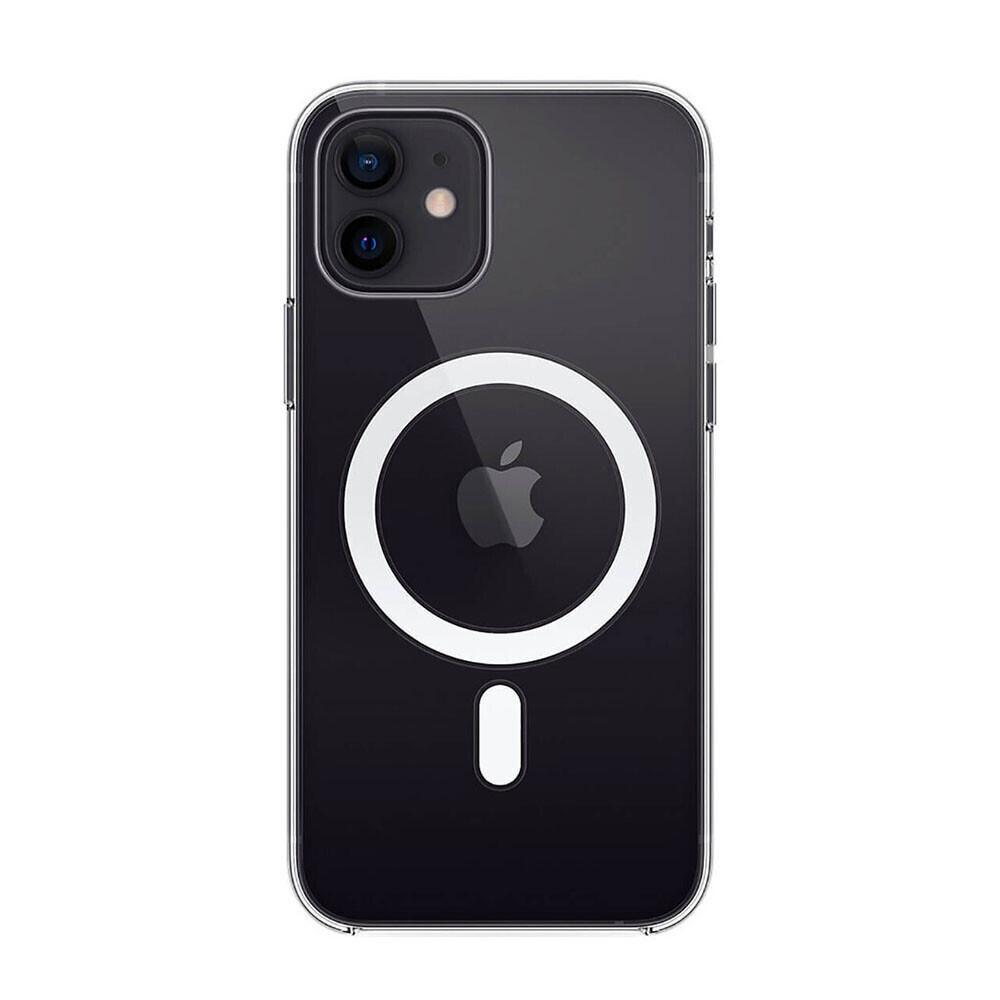 Прозрачный силиконовый чехол iLoungeMax Clear Case MagSafe для iPhone 12 mini OEM