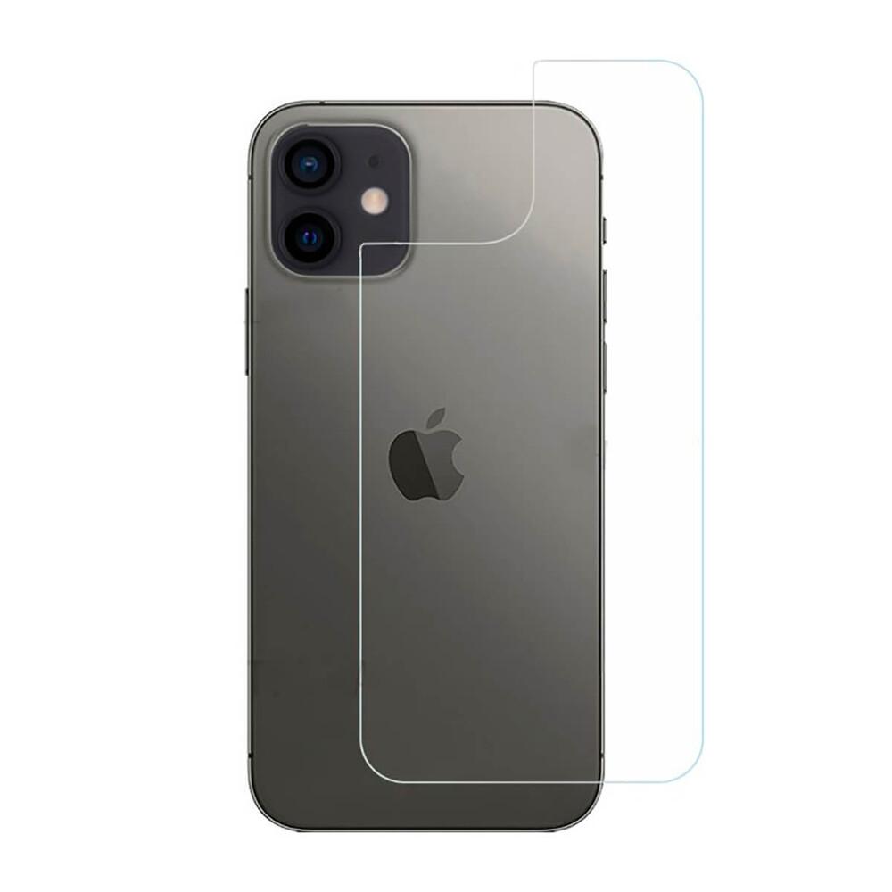 Купить Задняя защитная пленка oneLounge Clear HD PET Film для iPhone 12 mini (2шт)