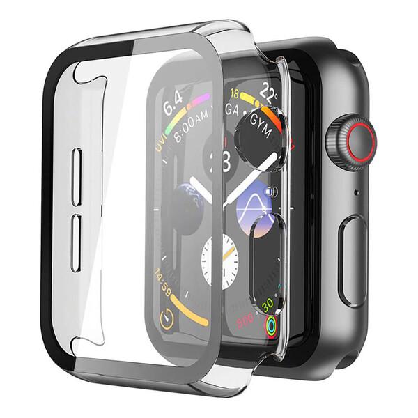 Прозрачный чехол с защитным стеклом iLoungeMax Clear Premium Case PC+Glass для Apple Watch 40mm