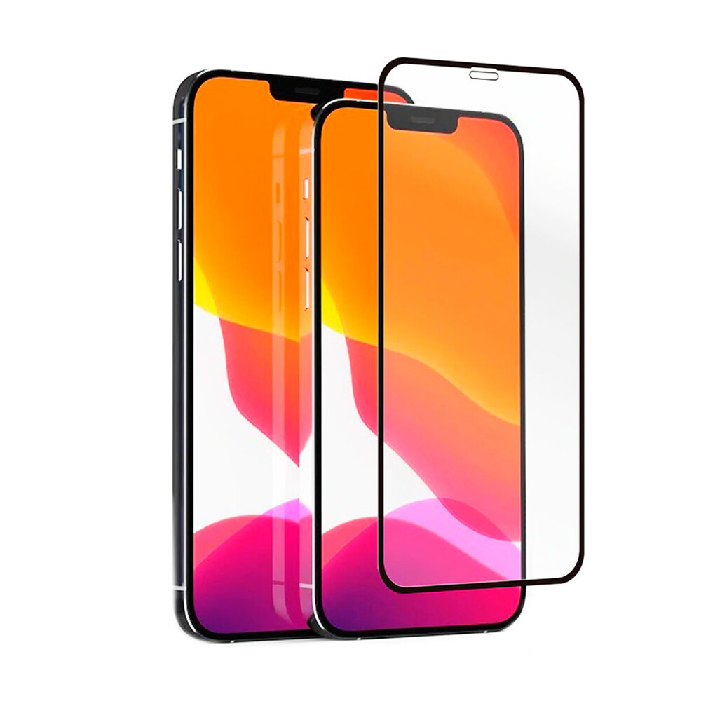 Защитное стекло oneLounge SilicolEdge Full Cover Glass 2.5D для iPhone 12 | 12 Pro