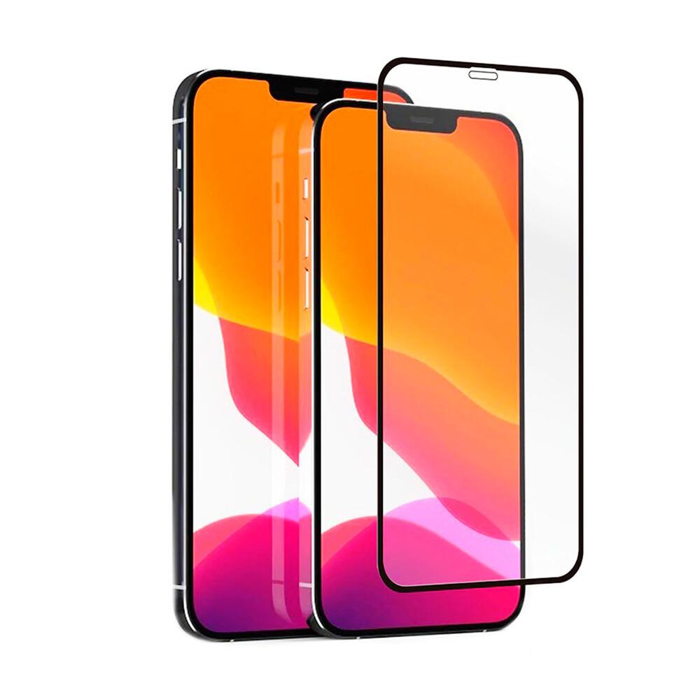 Купить Защитное стекло oneLounge Silicol Edge Full Cover Glass 2.5D для iPhone 12 | 12 Pro