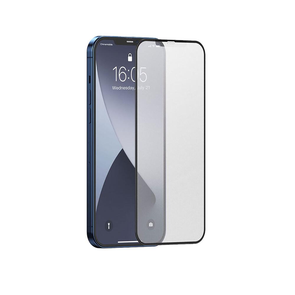 Купить Матовое защитное стекло oneLounge Full Screen Frosted Glass Tempered Film для iPhone 12 mini