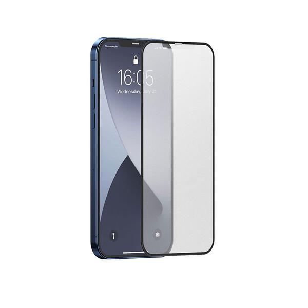 Матовое защитное стекло iLoungeMax Full Screen Frosted Glass Tempered Film для iPhone 12 | 12 Pro