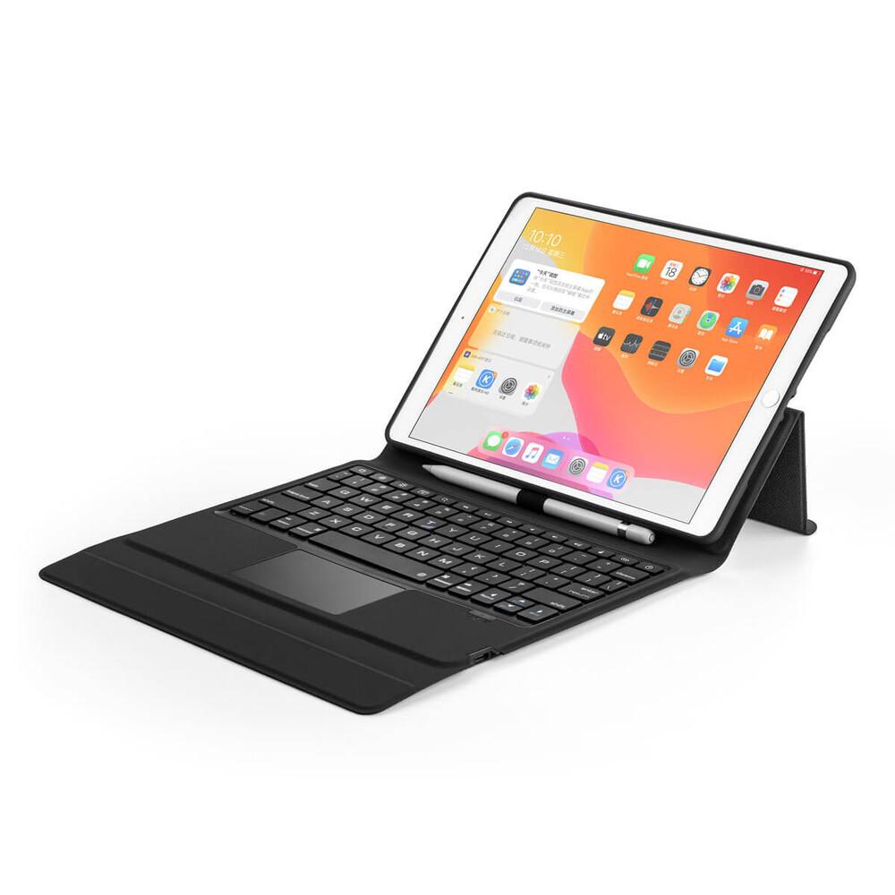 "Купить Чехол-клавиатура oneLounge General Leather Keyboard Case для iPad 7 | 8 | 10.2"" (2019 | 2020) | Pro 10.5"""