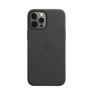 Купить Кожаный чехол oneLounge Genuine Leather Case MagSafe Black для iPhone 12 Pro Max ОЕМ