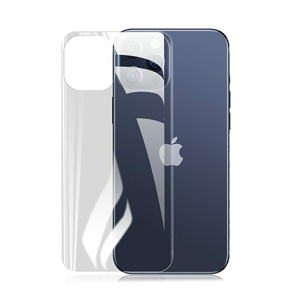 Задняя защитная гидрогелиевая пленка iLoungeMax Hydrogel Film для iPhone 12 Pro Max