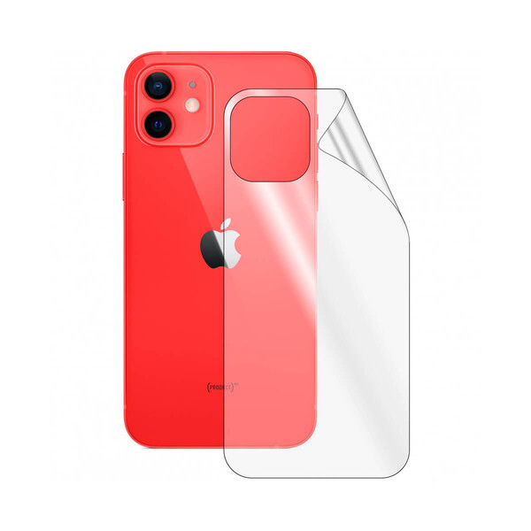 Матовая задняя защитная гидрогелевая пленка iLoungeMax Hydrogel Back Film Matte для iPhone 12 mini