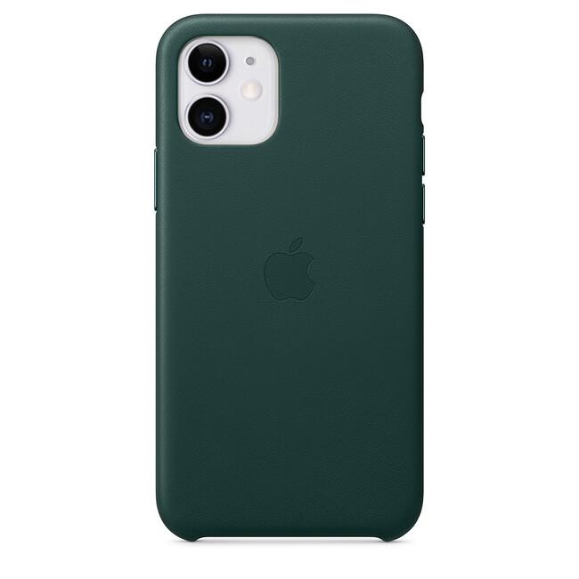 Кожаный чехол oneLounge Leather Case Forest Green (Копия) для iPhone 11 Купить